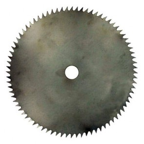 Brush cutter blade 80 teeth - Cutting width 255mm, central bore: 25,4mm, thick: 1,9mm