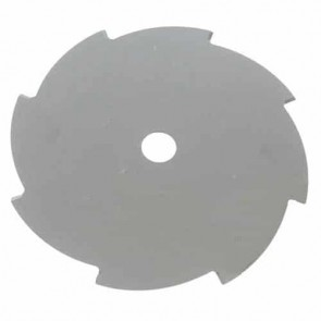 Crossed flat brush cutter blade 10 teeth - Cutting width 255mm, central bore: 20,0mm, thick: 2,0mm
