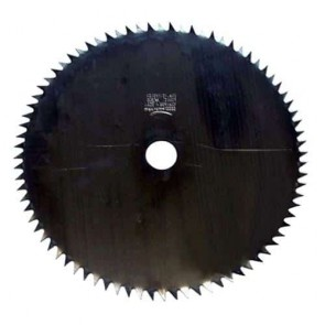 Brush cutter blade 80 teeth - Cutting width 255mm, central bore: 25,4mm, thick: 1,6mm