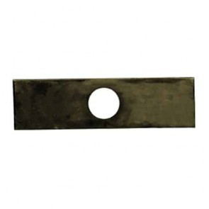 Aerator blade in treated steel for PILOTE88 models S383B, S383E, S455B, S455 and PUBERT model DORI - L: 145mm, Ø: 25mm. Replaces original : 71519, 0001000258.