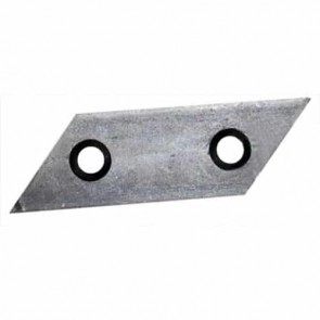 Shredder blade for AL-KO models Newtec, Dynamic, Power Slider and frontec - L: 98,2mm, l: 30mm, Ø: hole: 8,6mm, pitch center: 45mm. Replaces original : 517828
