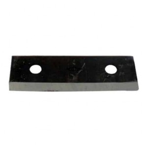 Shredder blade for LESCHA models zak 1500, zak 2002 - L: 75mm, l: 27,5mm, Ø: hole: 7mm, pitch center : 45mm. Replaces original : 53350