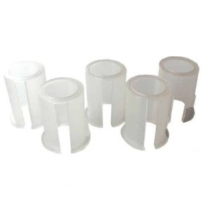 Set of 5 plastic rings with diameter 24mm, 25mm, 25,4mm, 26mm and 27mm - for gearbox 160-2042
