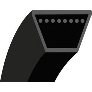 Z19 : V - belt for Mowers Brushcutters DORIGNY Model DORI 600 - Outside length: 528 mm - Section: 10x6 mm - Original N°: 1449
