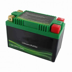 Lithium Starter Battery Lithium-Fer-Potasium (LiFePo4 or LFP) 12V 20A 48Wh, replaces conventional lead/acid batteries YB10A-A2/10B-4/10L-A2/10L-B/10L-B2/12A-A/12A-B/12AL-A/12AL-A2/12B-B2/12C-A/14-A2/14A-A1/14A-A2/14B-2/14B-4/14L-A1/14L-A2/14L-B2/16AL-A2/1