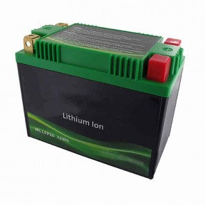 Lithium Starter Battery Lithium-Fer-Potasium (LiFePo4 or LFP) 12V 24A 72Wh, replaces conventional lead/acid batteries YTX20-BS, YTX20L-BS, YTX20H-BS, YTX20HL-BS, YTX24HL-BS, YTX24HL-A-BS, Y50-N18A-A, Y50-N18L-A-CX, Y50N18L-A2, Y50N18L-A3, SY50-N18L-AT, YT