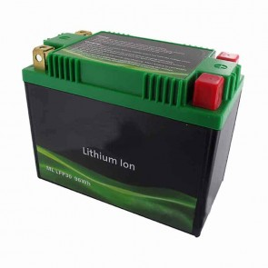 Lithium Starter Battery Lithium-Fer-Potasium (LiFePo4 or LFP) 12V 32A 96Wh, replaces conventional lead/acid batteries YIX30L, YTX30L-BS, YB30L-B, YB30CL-B, YHD4-12, Y60N24-A, Y60N24AL-B, 12N24-3, 12N24-3A, 12N24-4, 12N24-4A, 60N30L-A (53030), Y60N30L-B (5