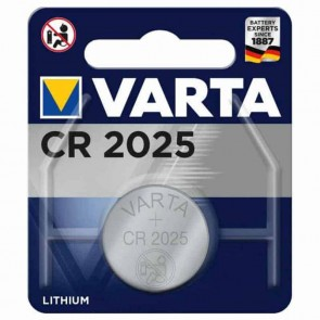 Blister coin cell Battery VARTA 3V lithium CR2025.