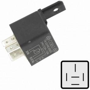 Universal relay - 5 pins 24 V, 10/20 A