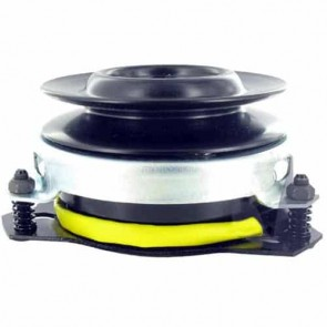 Electromagnetic clutch for CUB CADET, JOHN DEERE, MURRAY - H: 92mm, Ø int: 25,4mm, Ø: pulley : 136mm. Replaces original : 138412, AM100979, AM115090, AM118969, AM122969, AM16083, 326108