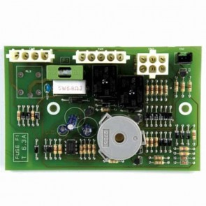 Circuit board for CASTELGARDEN with fuse. Replaces original : 25722411