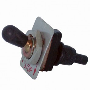 Start/stop switch 2 positions, 1 cLight bulb STIHL for chain saw and others. Replaces original : 1121-430-0200