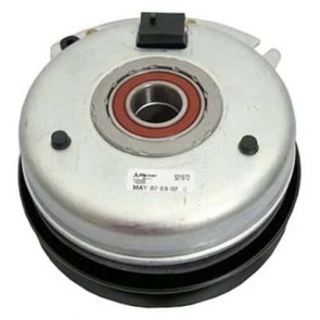 Electromagnetic clutch JOHN DEERE, for model: L120 - H: 82mm, Ø int: 25,4mm, Ø: pulley : 162mm - (Warner 5219-20 and 5219- 72)