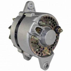 Alternator KUBOTA 12V, 40A, type DENSO. Mounting 3 points. Terminal B+ and connector 3 points E (mass), F (+ regulator) and N (AC). for B6200D, B6200E, B7200D, B7200E, B9200HSDTOW, L175, L185, L200, L225, L225DT, L235, L245, L285, L285P, L285WP, L295, L30