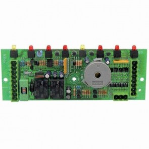 Circuit board 8 functions for CASTELGARDEN with fuse. Replaces original : 25722407/0