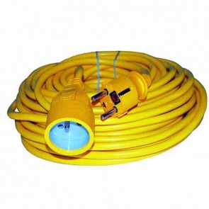 Electrical extension cord PVC - length: 40 m 3 × 1,5mm2