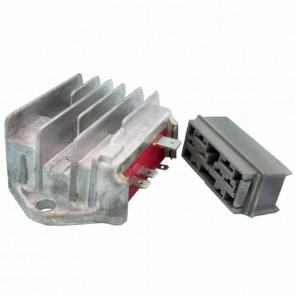 Voltage regulator 6 pins for LOMBARDINI. Replaces original : 7362-298