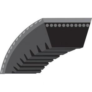 """V - belt toothed for Snowblower LAWN BOY - GILSON - (section 3/8"""") - Original N°: 207159, 700370"""