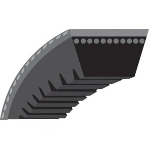 "V - belt toothed for Snowblower MTD Model from 1992 to 2002 - (3/8"" x 35"") - Original N°: 754 - 0430, 754 - 0430A, 954 - 0430A"