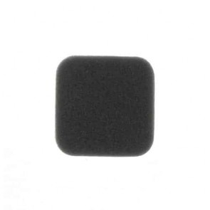 Air filter for OLEO-MAC B40S, 727, 733, 740, 440 and 433 - L: 54mm, w: 54mm, H: 16mm. Replaces original: 72700040