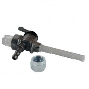 Petrol tap metal with filter for JLO - wire: M12 x 100 left. Replaces original : 102-21-319-010