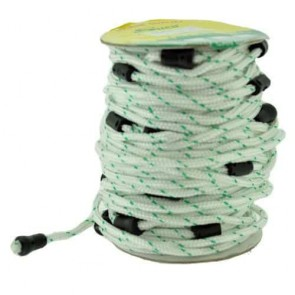 Roll with 28 Starter cords for STIHL TS400 - Length cord 90cm, ø: 3,5mm.