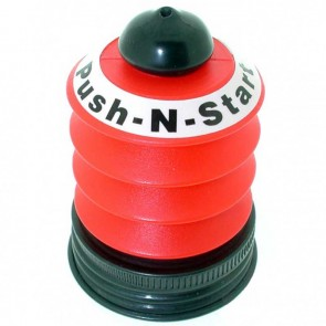 Universal Gas cap with Primer Pump, fits most engines BRIGGS & STRATTON with tank under the carburettor
