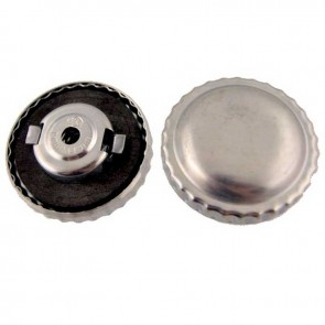 Universal Gas cap in metal with aeration and bayonet Gasket - Ø ext: 30mm