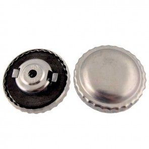 Universal Gas cap in metal with aeration and bayonet Gasket Ø ext: 60mm