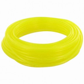 TYGON hose of superior quality for fuels and oils. - for chain saws, small engines, mowers, etc - Lengte:15 m, Ø: ext: 4,76mm, Ø int: 2,38mm (Yellow transparant)
