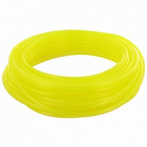 TYGON hose of superior quality for fuels and oils. - for chain saws, small engines, mowers, etc - Lengte:15 m, Ø: ext: 4,76mm, Ø int: 3,17mm (Yellow transparant)