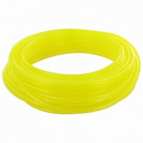 TYGON hose of superior quality for fuels and oils. - for chain saws, small engines, mowers, etc - Long: 15 m, Ø: ext: 6,35mm, Ø int: 3,17mm (Yellow transparant)