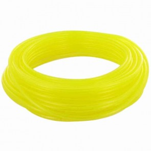 TYGON hose of superior quality for fuels and oils. - for chain saws, small engines, mowers, etc - Lengte:15 m, Ø: ext: 7,93mm, Ø int: 4,76mm (Yellow transparant)