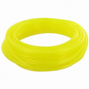 TYGON hose of superior quality for fuels and oils. - for chain saws, small engines, mowers, etc - Lengte:15 m, Ø: ext: 9,52mm, Ø int: 6,35mm (Yellow transparant)