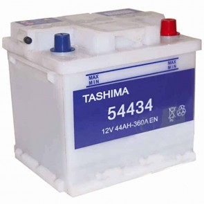 Starter Battery TASHIMA 12 V - 44 Ah + right - L: 208mm, l: 175mm, H:190mm
