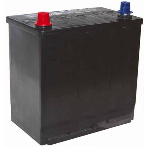 Battery TASHIMA 12 V - 60 Ah + left; for KUBOTA models AM3300- F2000- F2400- F2560- F3060- F3560 - FZ2400 - L: 230mm, l: 172mm, H: 222mm