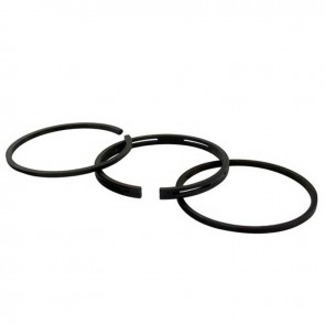 Piston ring set Ø 58,7mm for TECUMSEH engines H22, H25, H30, LAV30, TVS75 models. Replaces original 27565, 16100006.