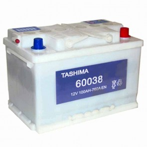Starter Battery TASHIMA 12 V - 95 Ah + right - L: 353mm, l: 175mm, H: 190mm