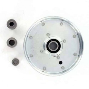 """Pulley with bearing for SCAG models 32"""", 36"""", 48"""", 52"""" and 61"""" - H: 30,16mm, Ø ext: 131,76mm, Ø int: 9,52mm. Replaces original: 49198"""