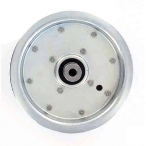"""Pulley with bearing for SCAG models 40"""" and 48"""" - H: 31,7mm, Ø: ext: 149,22mm, Ø int: 9,52mm. Replaces original: 48269"""