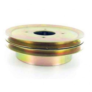 Double pulley with brake drum for SCAG - Ø: ext: 203,2mm, Ø int: 57,15mm. Replaces original: 48992