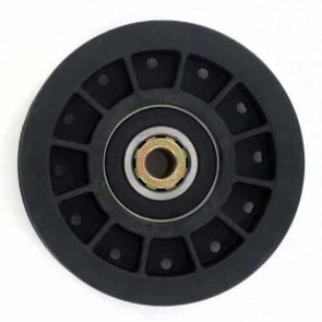 """Pulley with bearing for SCAG models 36"""", 46"""" and 52"""" commercial - H: 30,16mm, Ø: ext: 87,31mm, Ø int: 9,52mm. Replaces original: 48201"""