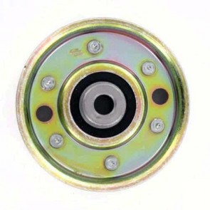 """Pulley with bearing for SCAG models 36"""", 46"""" and 52"""" - H: 25,4mm, Ø: ext: 82,6mm, Ø int: 9,53mm. Replaces original: 481048"""