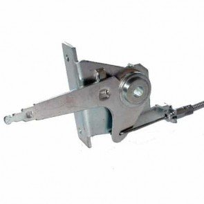 Throttle control for mowers MURRAY. Replaces original: 21222 - Length of the cable: 1600mm - Length of the cable outer: 1550mm - Wire travel: 43mm.