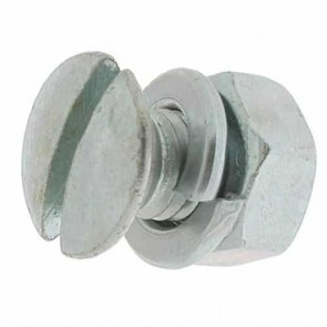 Blade bolt with nut and washer for BRILL and GARDENA - Length: 16mm, Ø: 8mm