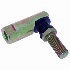 Tie rod end with LH thread for AYP - Ø: 9,52mm - Ø female side: 9,5mm - Ø male side: 9,5mm. Replaces original: 105851X.