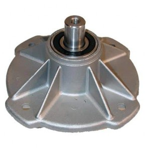 Spindle assembly for CASTELGARDEN lawn tractors model F72 Flipper - H: 135mm. Replaces original: 84207250/0