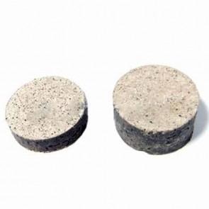 Brake pads round. Ø: 28mm - Thickness: 7 & 14mm.