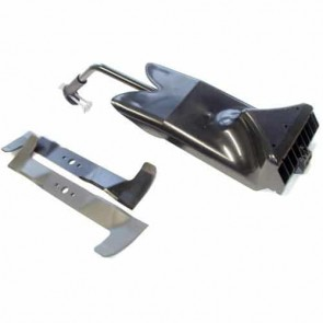Set mulching deflector and blade for CASTELGARDEN model TC102 from 2006. Replaces original: 99900073/0