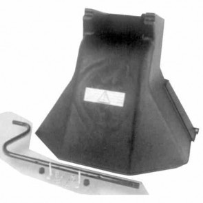 Deflector rear for CASTELGARDEN models 102 and 122 cm HYDRO (from 09/1999). Replaces original: 99900015/1